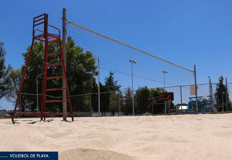 Cancha Voleibol Playa EUDEP